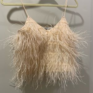 Lucy Paris feather cami